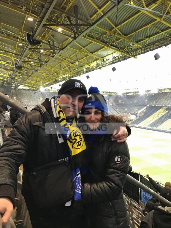 Borussia-Atalanta: tutta la gioia dei tifosi bergamaschi