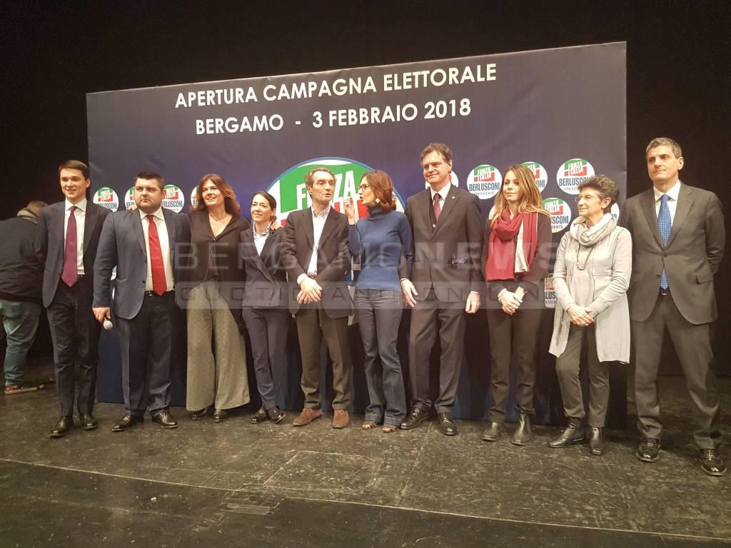 Candidati Forza Italia per politiche e regionali