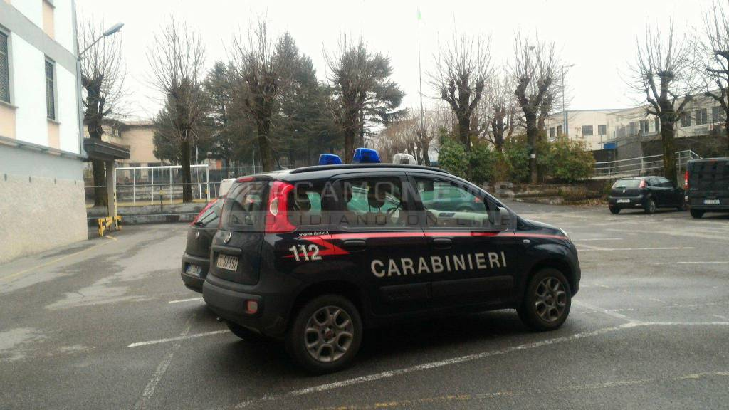 carabinieri clusone