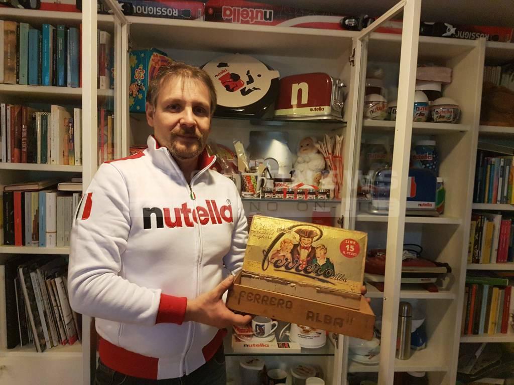 Collezione di Nutella di Simone Paganoni