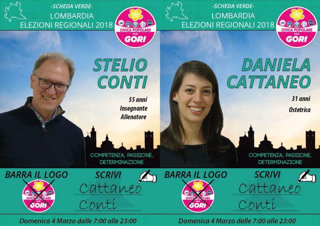 Daniela Cattaneo e Stelio Conti