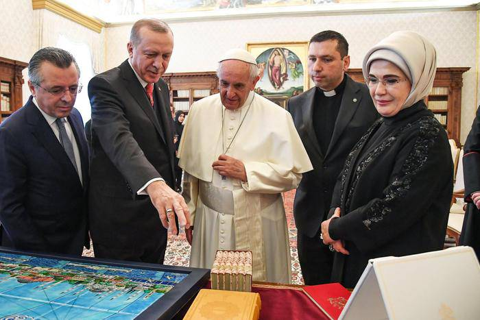 erdogan e il papa