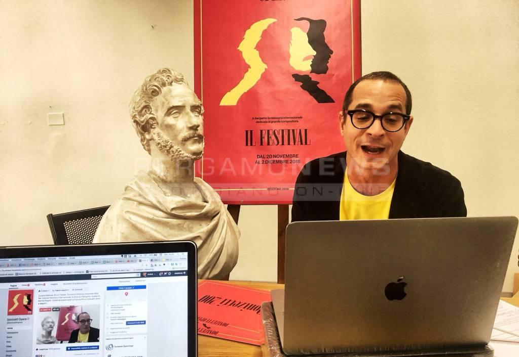 Francesco Micheli presenta il festival Donizetti Opera