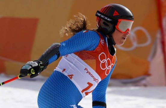 Olimpiadi invernali, Brignone bronzo nel gigante femminile Goggia unidicesima