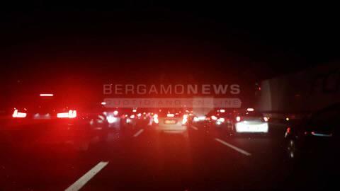 Incidente autostrada notte