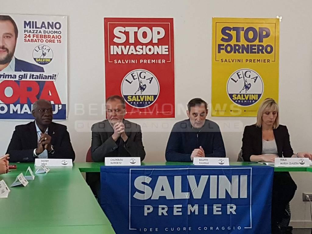 Lega Nord presentazione dei candidati