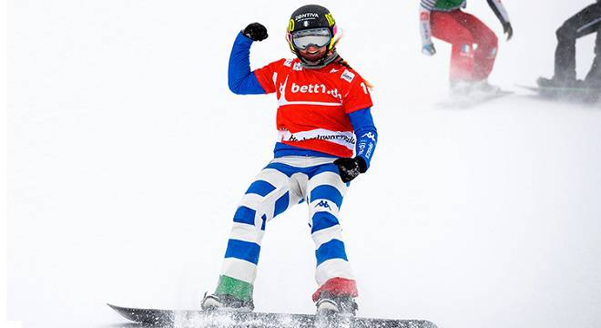 Snowboard, Coppa del Mondo: ancora un successo per Moioli
