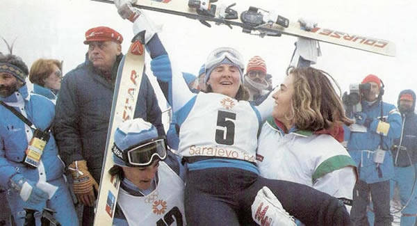 Paola Magoni oro Olimpiadi