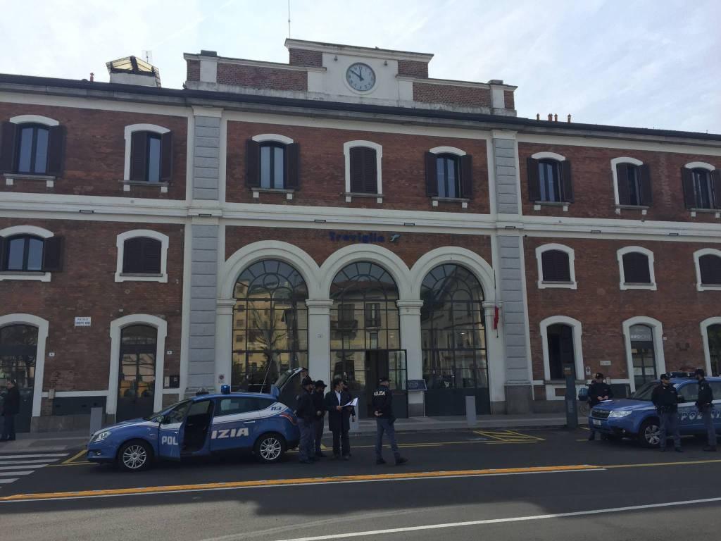 Polizia a Treviglio