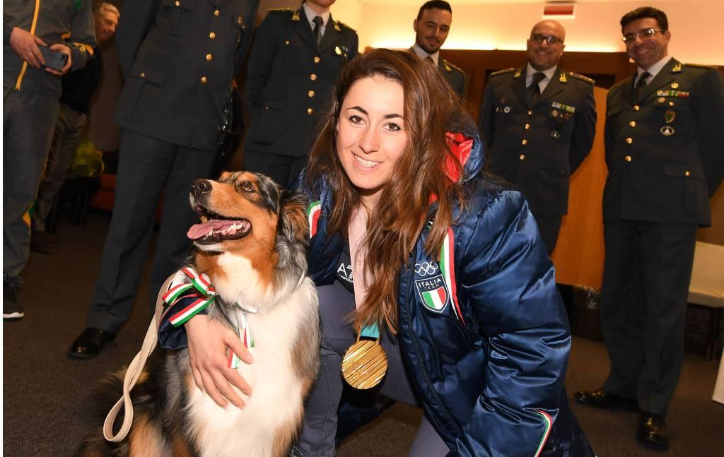 Sofia Goggia torna casa