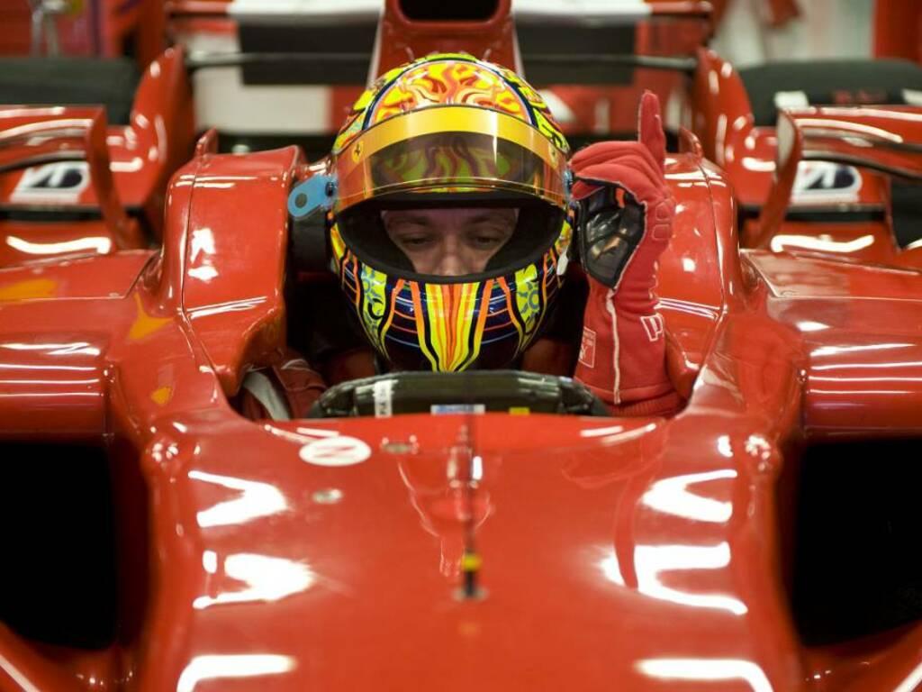 Valentino Rossi alla Ferrari