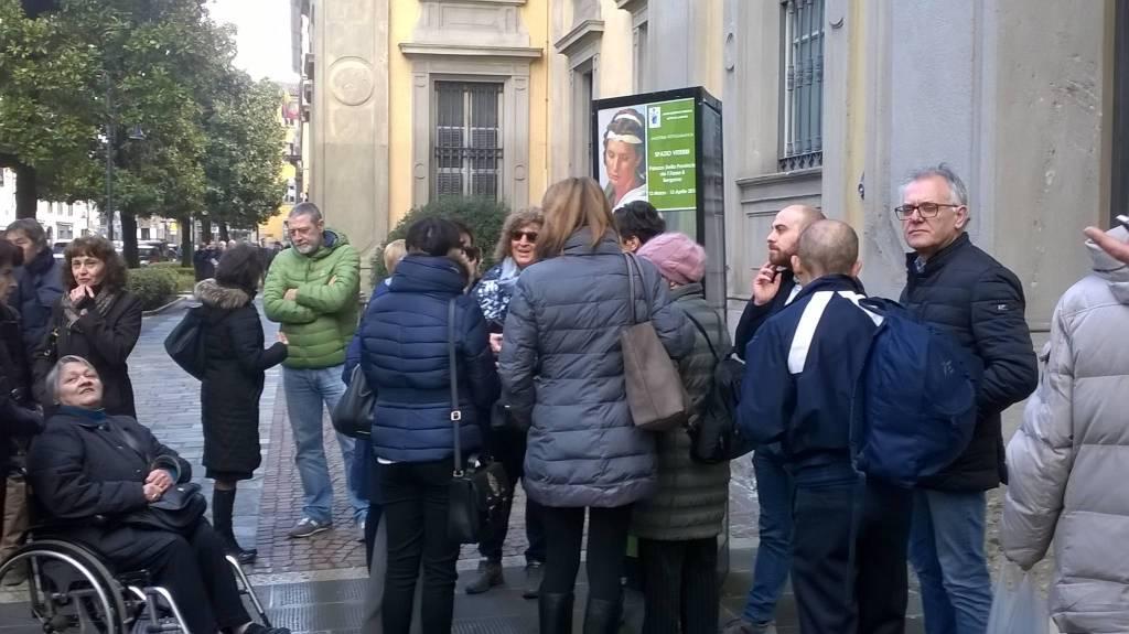 Protesta contro Comune di Fara Gera d'Adda