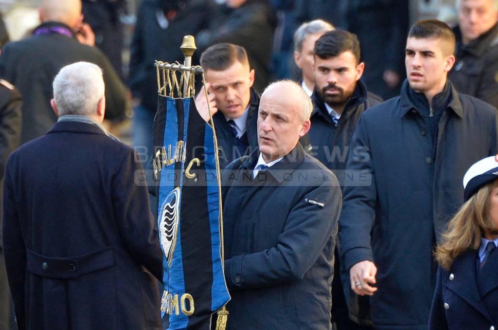 Atalantini a Firenze per i funerali di Astori