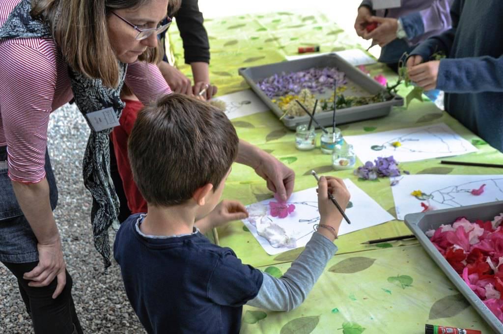 bambini disegno arte villa carlotta