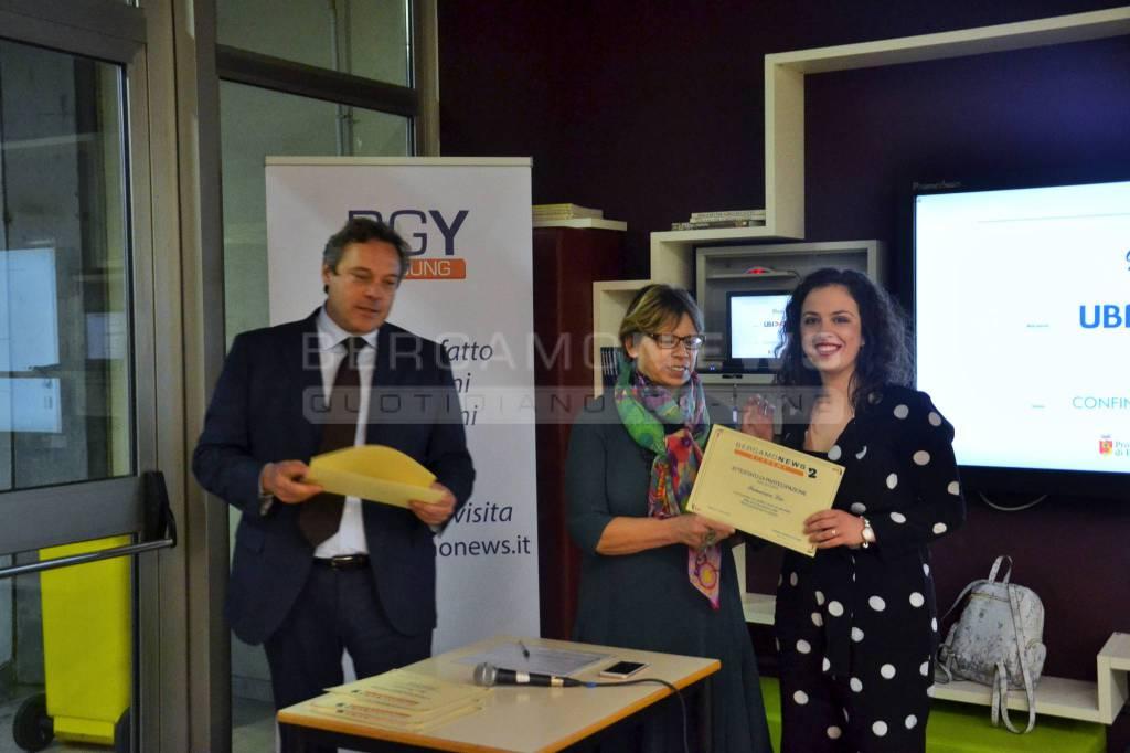 Bergamonews Academy 2: la consegna dei diplomi