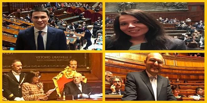 debuttanti parlamento