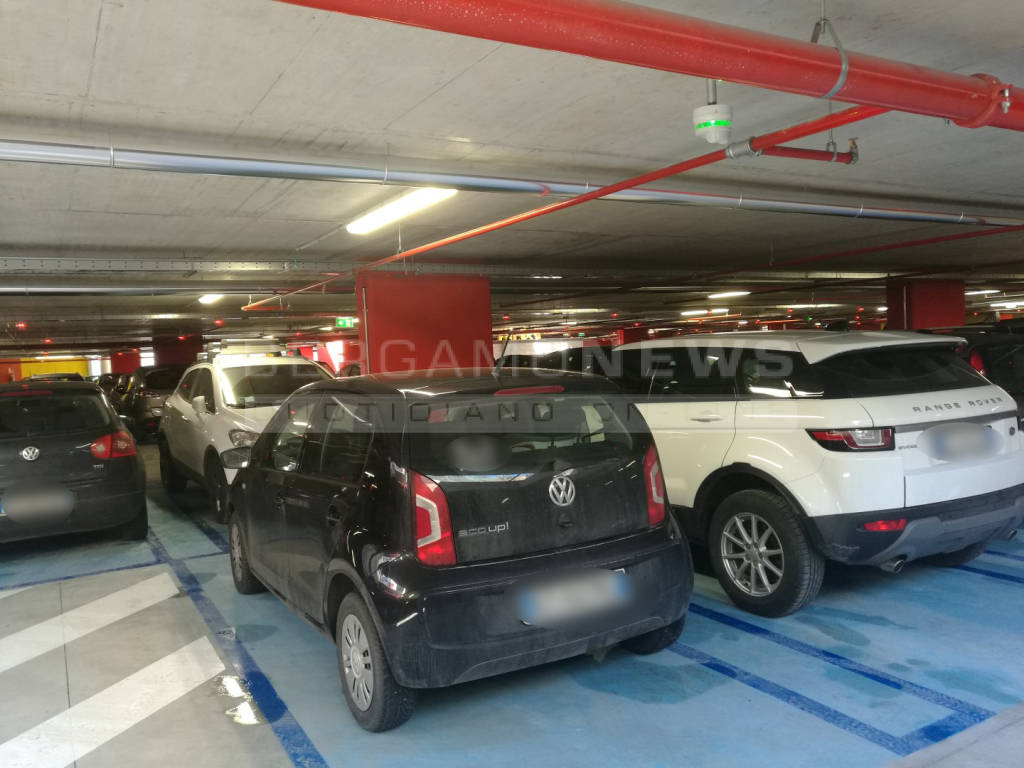 Il parcheggio di Piazza Setti