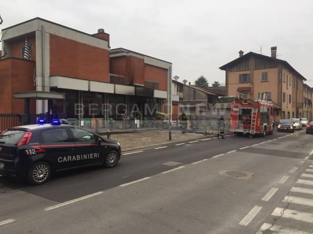 incendio romano negozio