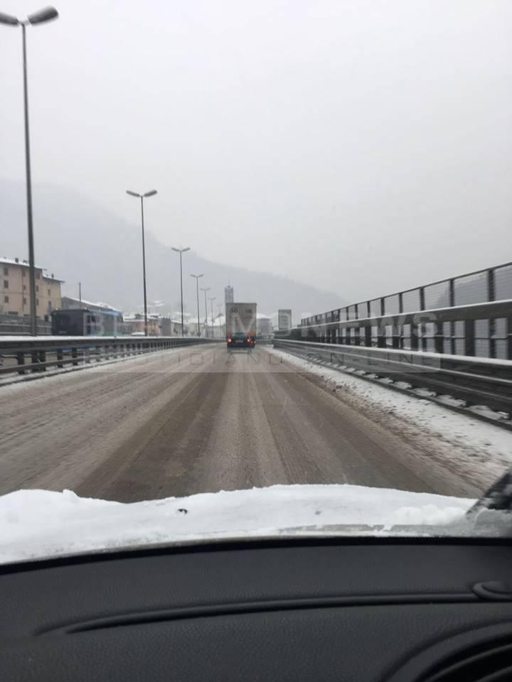 Nevicata del 1° marzo 2018