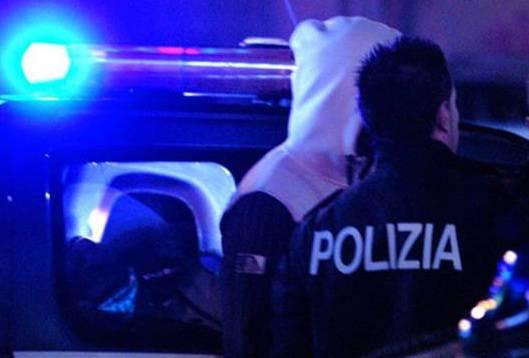 polizia arresto notte