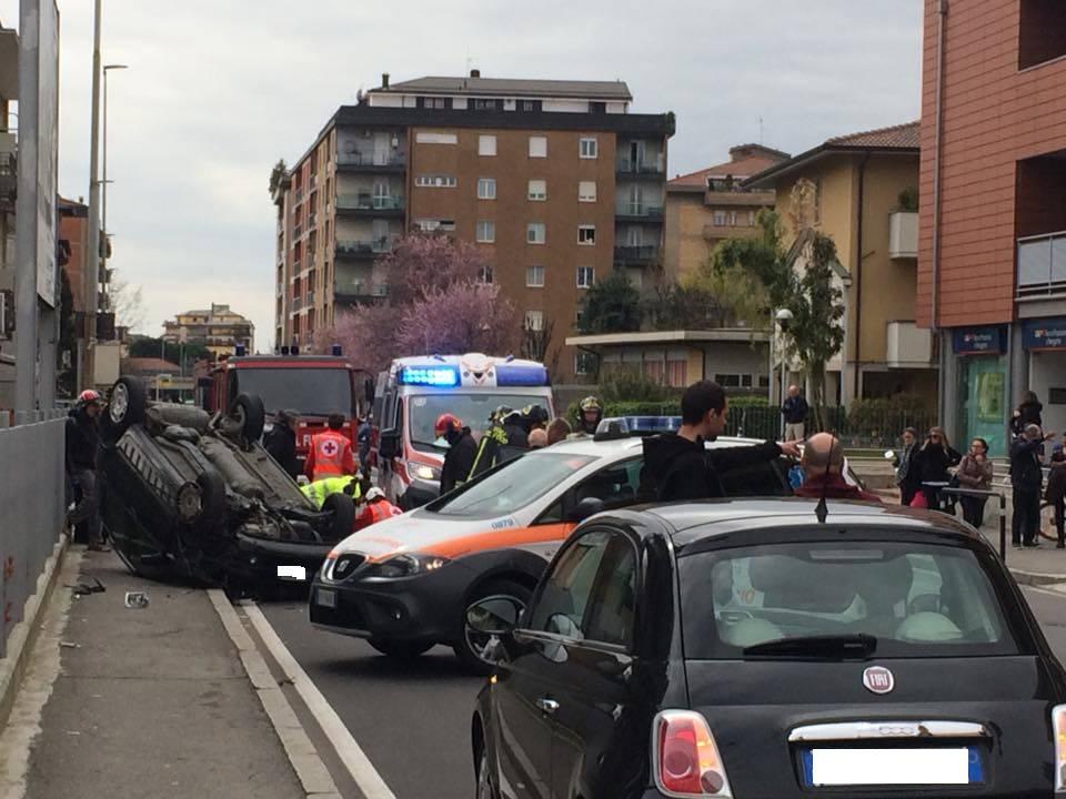 incidente via Corridoni