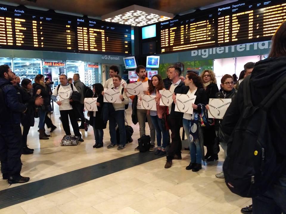 protesta pendolari