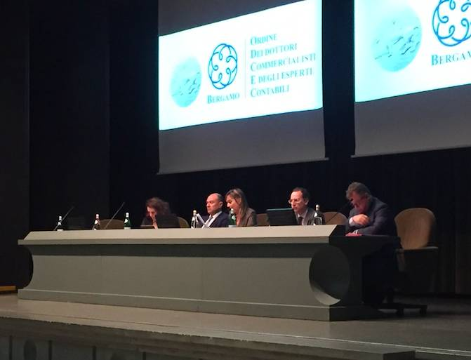 I dottori commercialisti ed esperti contabili in assemblea generale a Bergamo