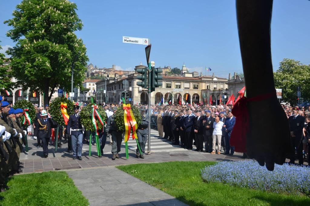 Il 25 Aprile, il corteo 2018 a Bergamo