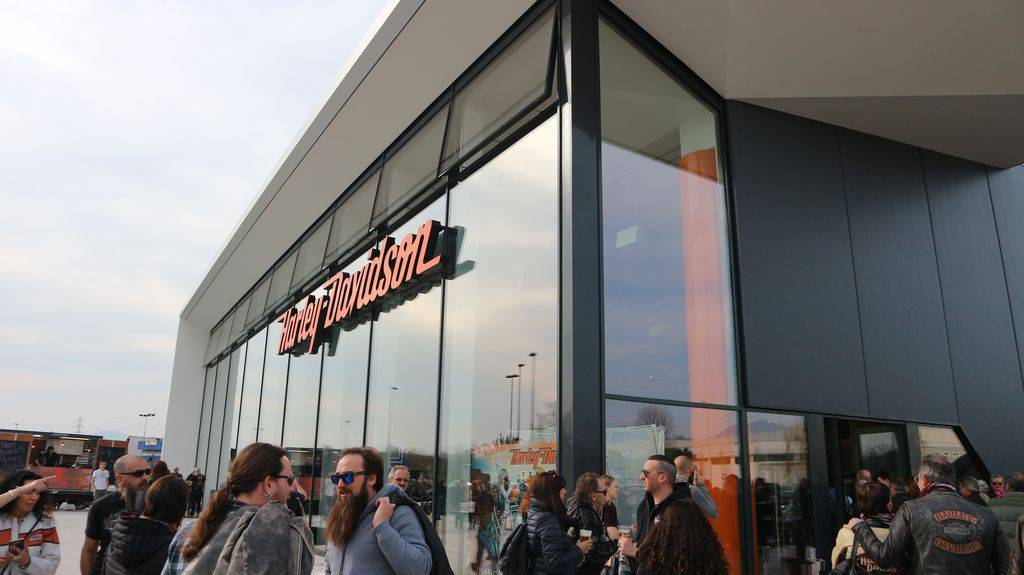 Inaugurata la nuova sede di Harley Davidson Bergamo