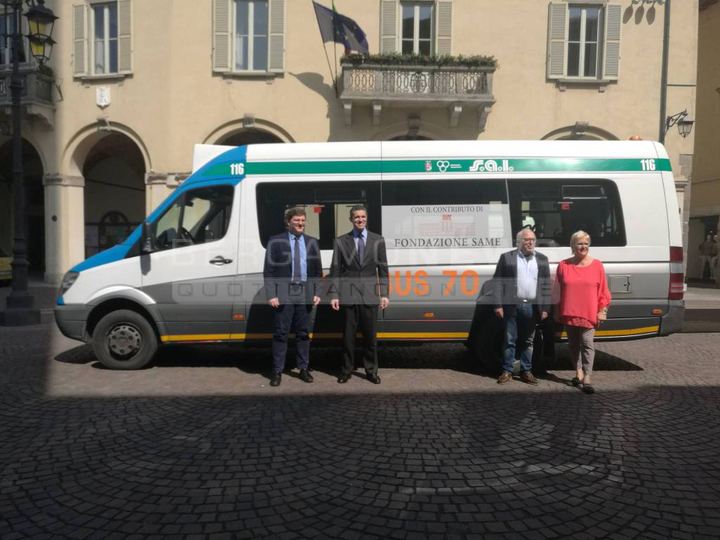 Omnibus 70 a Treviglio