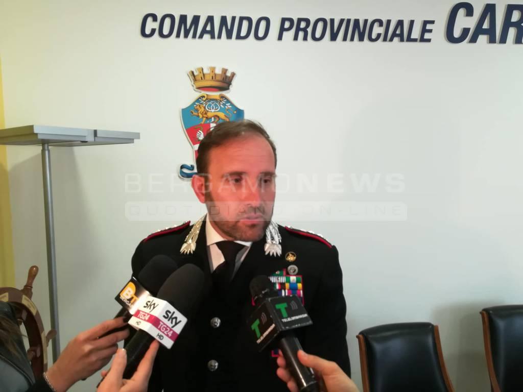 paolo storoni comandante carabinieri bergamo