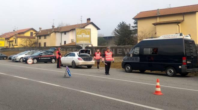 posti blocco carabinieri