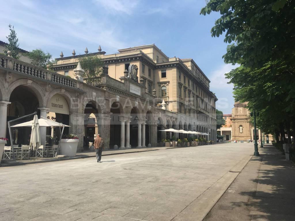 A spasso per il centro di Bergamo