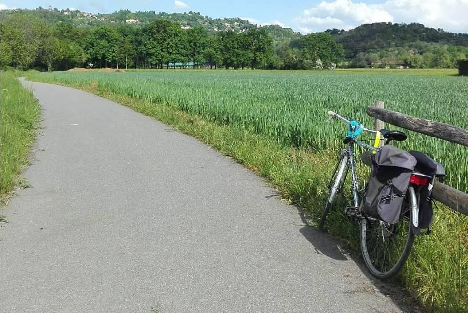 bicicletta parco dei colli