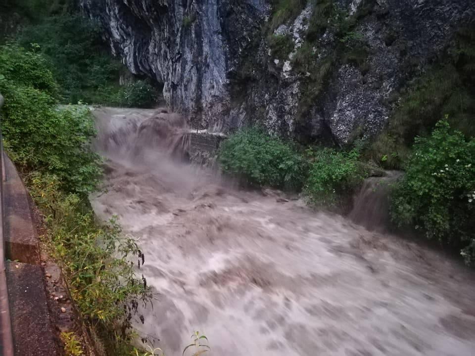 L'alluvione in Val Serina