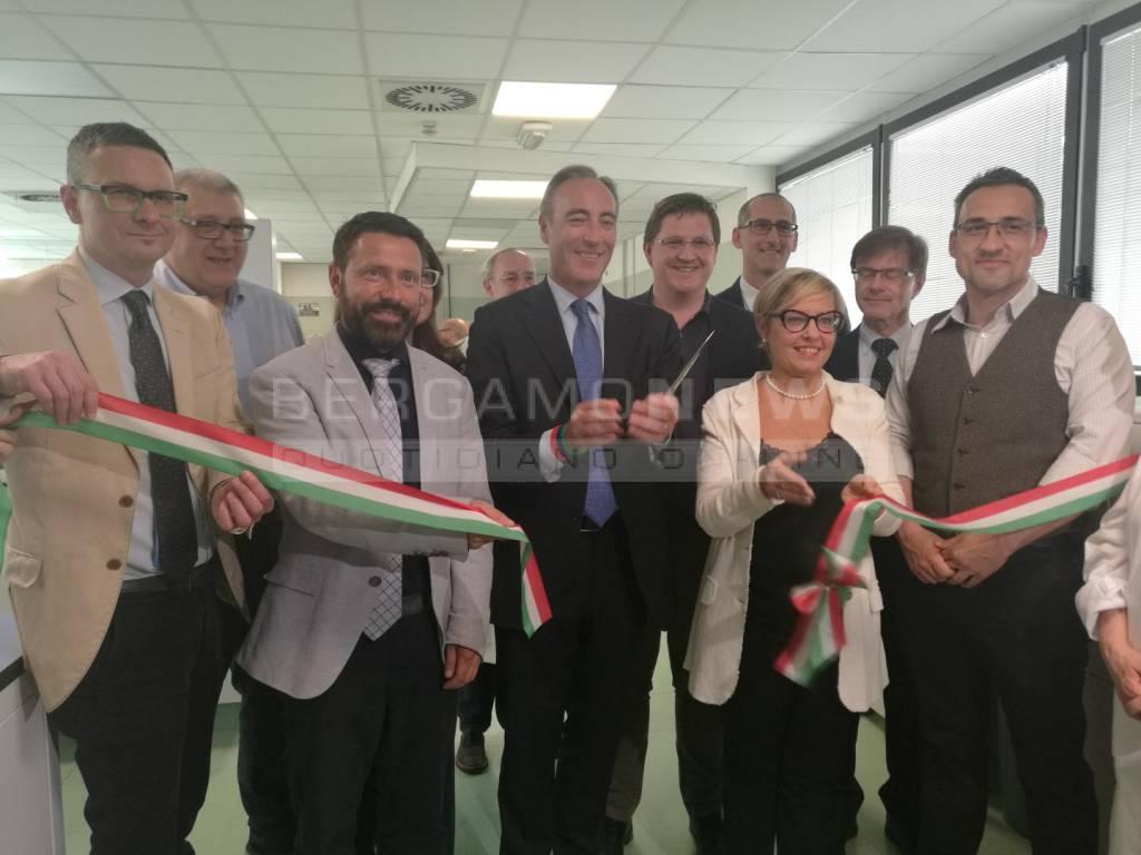 L'assessore regionale Gallera visita l'ospedale di Treviglio