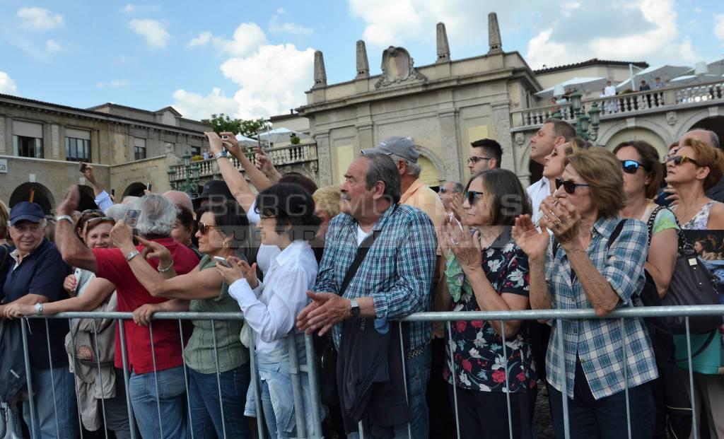 La salma del Papa Buono a Bergamo