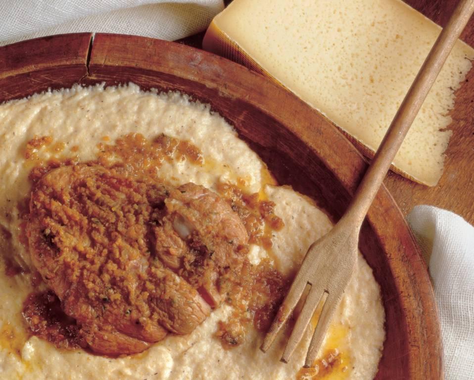 ossibuchi da abbinare alla polenta taragna orobica originale