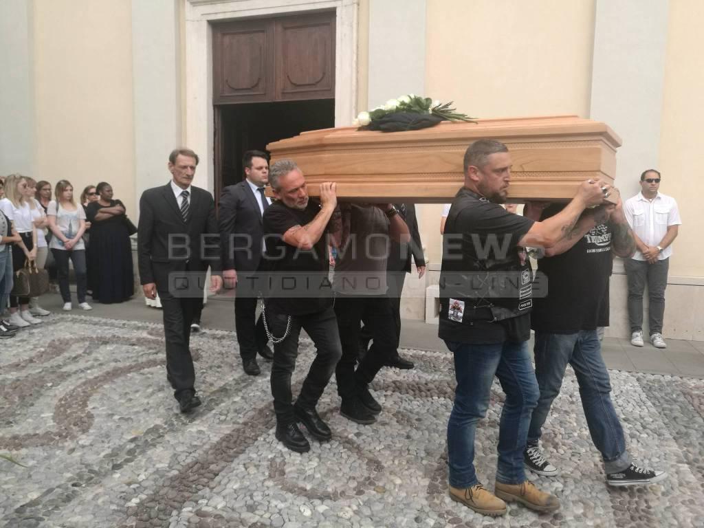 Pagazzano, il funerale di Alessandro Stefano Defendi