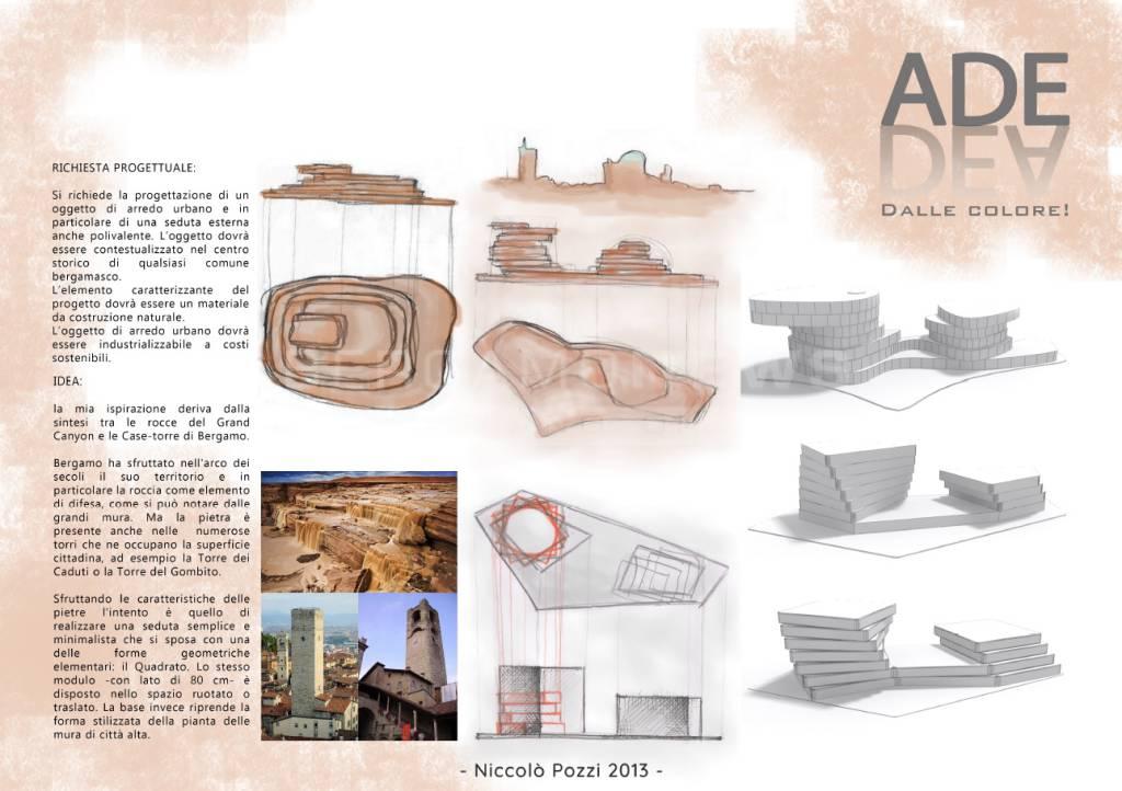 Blocchi di cemento anti terrorismo nel 2013 una panchina for Laghetto balneabile progetto