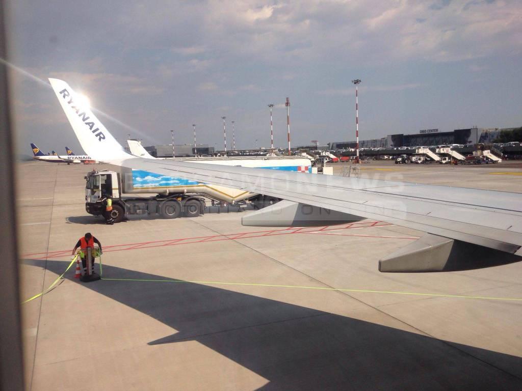 aereo ryanair aeroporto orio