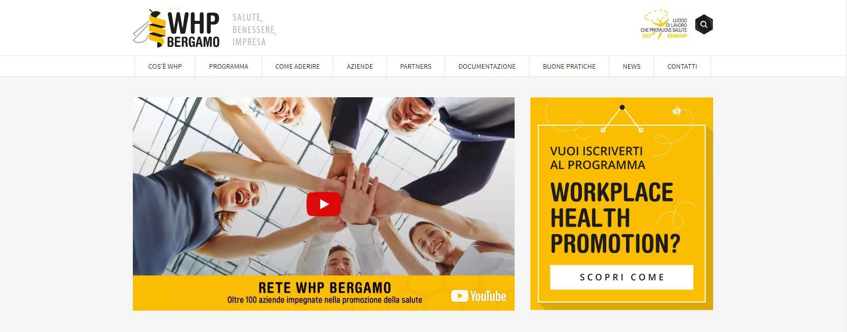 Whp Bergamo Salute Benessere E Impresa Anche Online Bergamo News