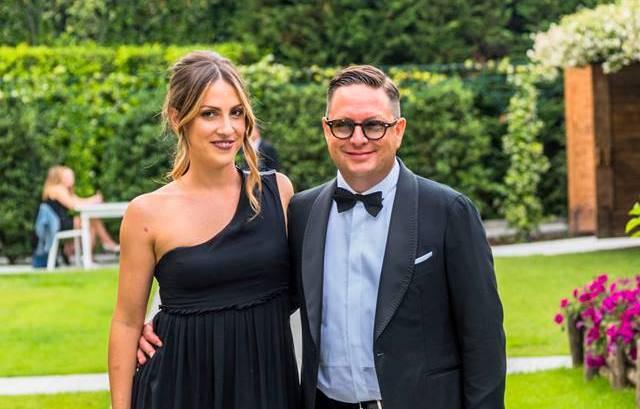 Michele Oggioni presidente di Premio Eccellenze Italia e la moglie Barbara Epis