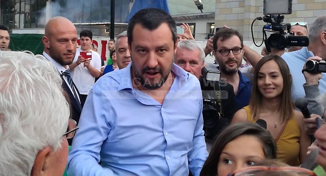 Salvini a Caravaggio
