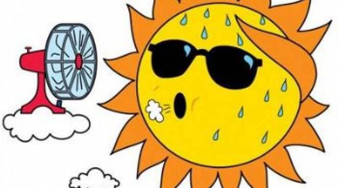 sole caldo afa