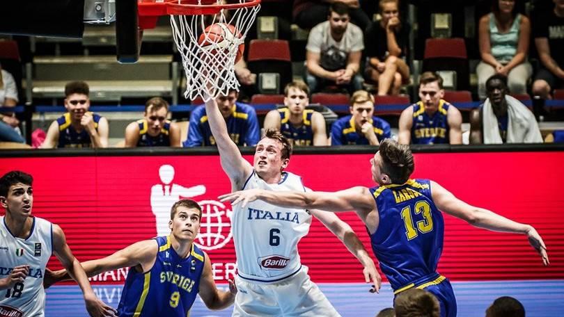 Italbasket under 20, buona la prima: Svezia battuta 85-71 e