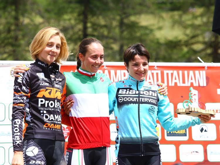Chiara Teocchi - Campionati italiani Mountain Bike 2018