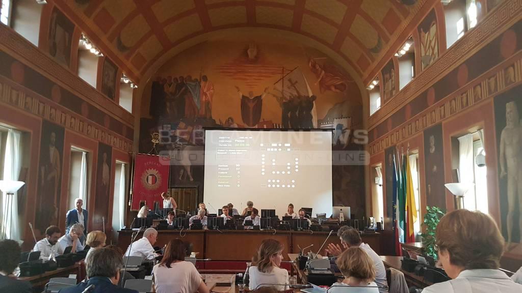 Consiglio comunale Bergamo 23 luglio 2018