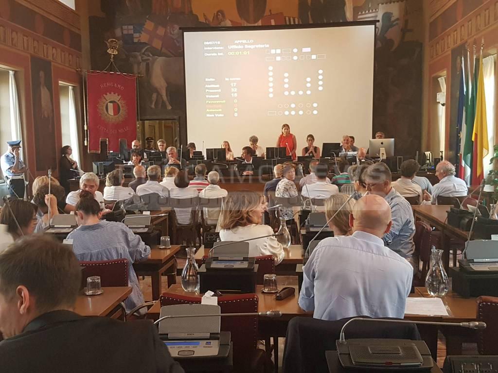 Consiglio Comunale Bergamo 9 luglio 2018