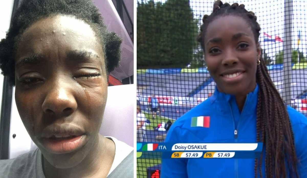Daisy Osakue, nazionale italiana di atletica, aggredita. Pd: allarme razzismo